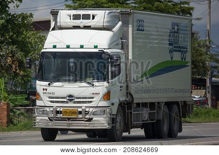 Container Truck Of Parame Logistics Transportation Company