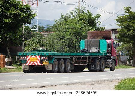 Hino Trailer Cargo Truck Of Sor Phatsorn Chai Transport.