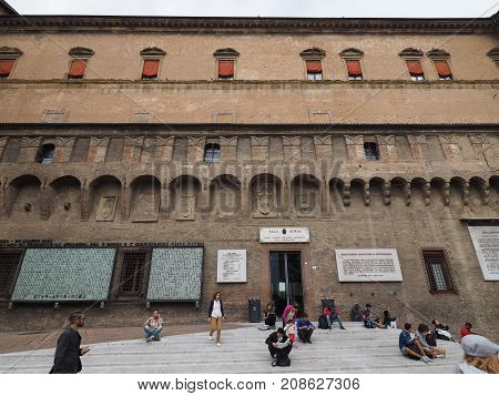 Sala Borsa Library In Bologna
