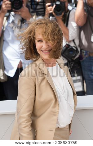 CANNES, FRANCE - MAY 19, 2016:  Nathalie Baye attends the 'It's Only The End Of The World (Juste La Fin Du Monde)'  photocall. 69th annual Cannes Film Festival at the Palais des Festivals