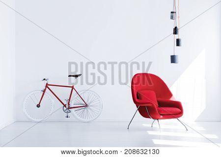 Bike In Waiting Room