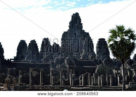The View Around Bayon Temple Complex, - Angkor Wat. Can You See Faces Are Everywhere?