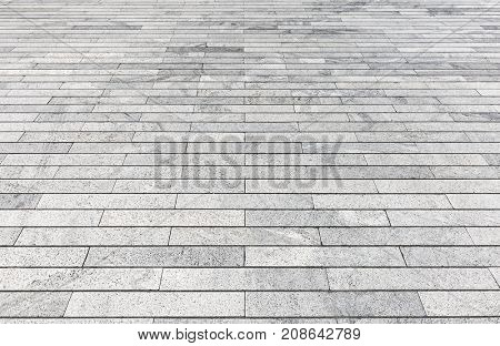 empty brick floor