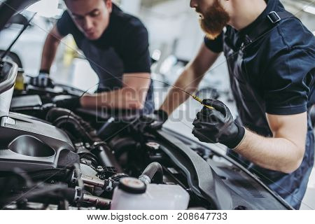 Handsome Auto Service Mechanics