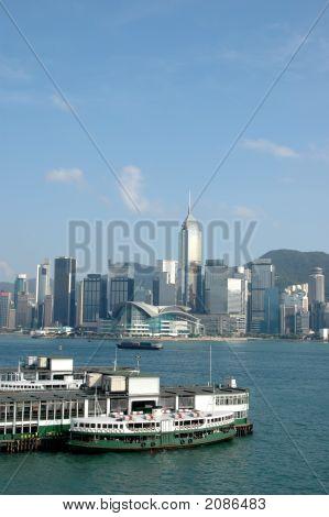 Victorial Habor in Hongkong