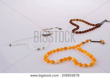 Set Of Praying Beads Of Various Color