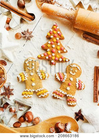 Christmas Baking Background