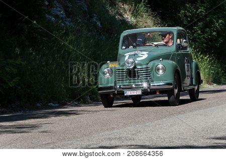 GOLA DEL FURLO, ITALY -FIAT 500 C