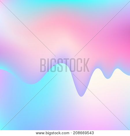 Liquid color blue and pink background. Abstract background (EPS 10)