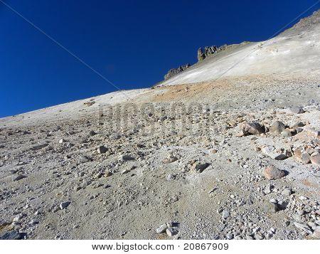 Uturunku volcano, Altiplano, Bolivia.