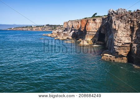 Boca Do Inferno. Seaside Cliffs. Cascais, Portugal