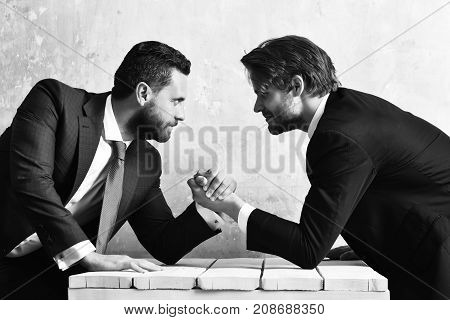 Business Partners Compete With Each Other