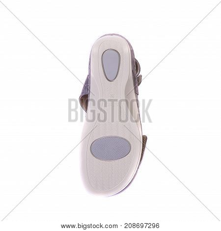 Orthopedic Footwear For People With Pronation Of Foot, Top View On The Sole