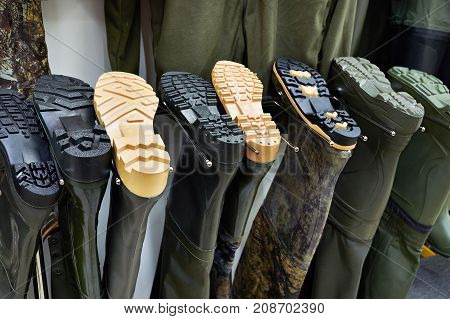 Rubber Swamp Boots For Fishing In Store