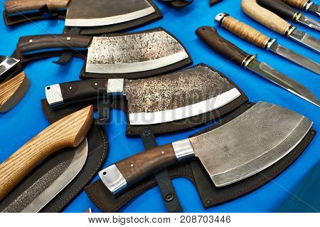 The forged chopper knives for the meat