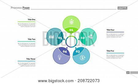 Five Petals Process Vector & Photo (Free Trial) | Bigstock