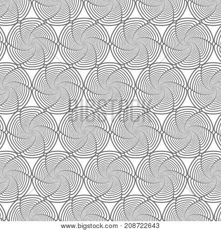 Line Background. Ornamental Texture. Oriental Geometric Ornament