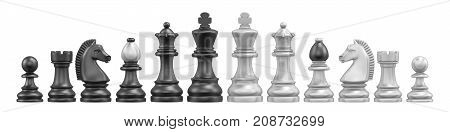 All Chess Pieces 3D