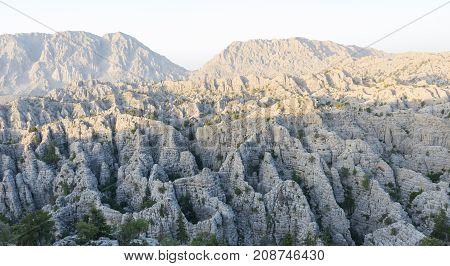 unusual mountains of the mediterranean region & mountains