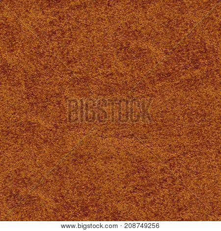 Seamless Brown Leatherette Texture Background