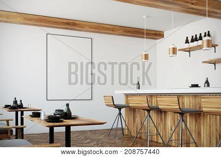 Bar Interior, Poster, Side