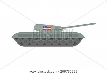 Military Machinery Illustration