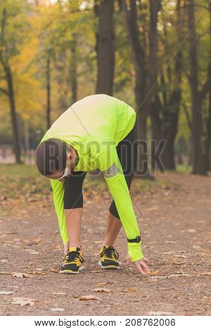 Ankle injury and pain from jogging / exercising outdoors.