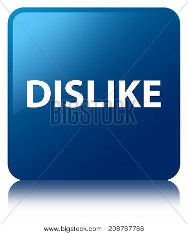 Dislike Blue Square Button