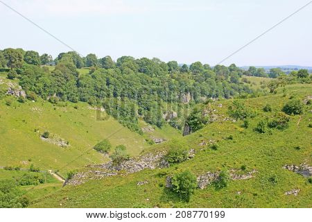 Peak District National Park in Derbyshire, England