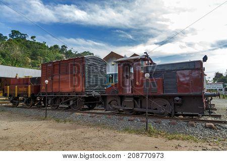 Old Locomotive Train Railway Station