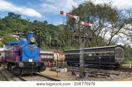 Old Train Railway Station Logistic