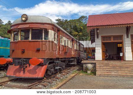 Old Train Passenger Railway Station