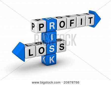 Riesgo - ganancias y pérdidas