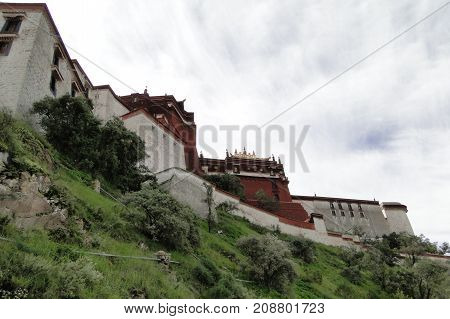 Potala Palace In Lhasa, Tibet Region