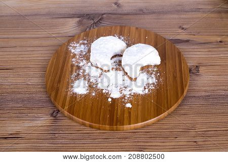 Cookies With Powdered Sugar