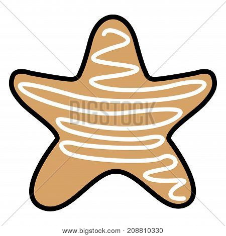 Isolated Christmas Gingerbread