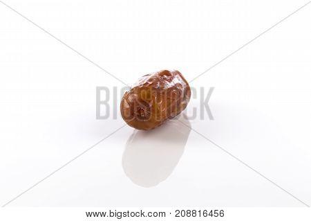 Date Fruit Isolated On White Background