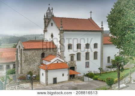 Mosteiro de Vairao, sights along the Camino de Santiago trail, Portugal