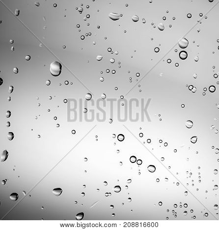 Abstract Water Drops