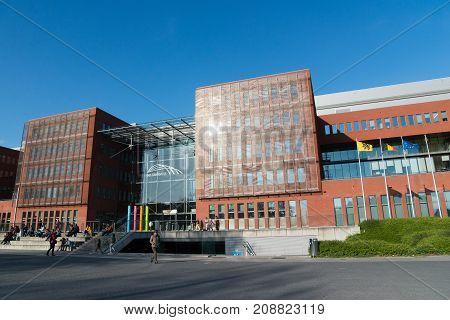 Brugge Main Railway Station. Bruges, West Flanders, Belgium.