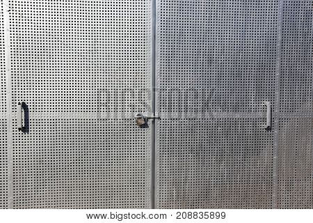 Doors - an opening in a wall or a fence for passage and passage