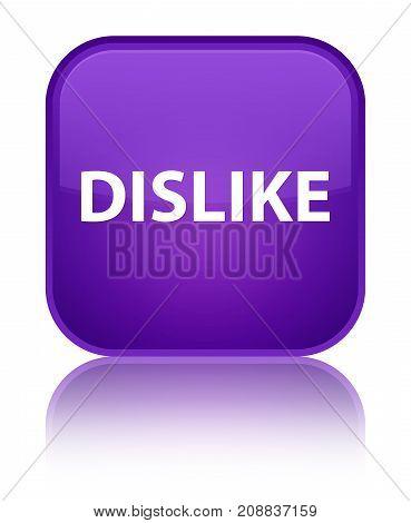 Dislike Special Purple Square Button