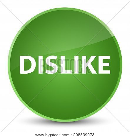 Dislike Elegant Soft Green Round Button