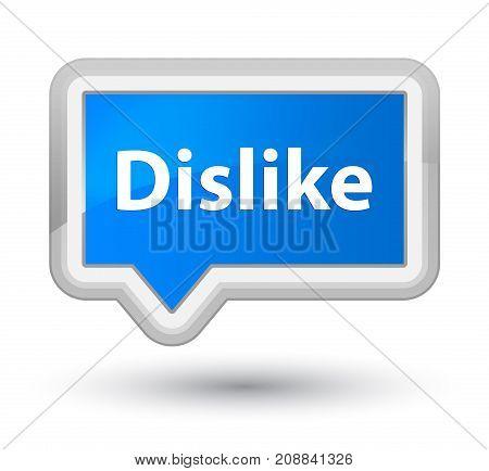 Dislike Prime Cyan Blue Banner Button