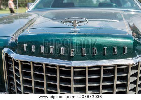 1973 - 1976 Ford Thunderbird Hood Emblem Ornament, Logo, And Greel