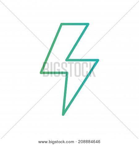 line energy hazard symbol power electric vector illustration