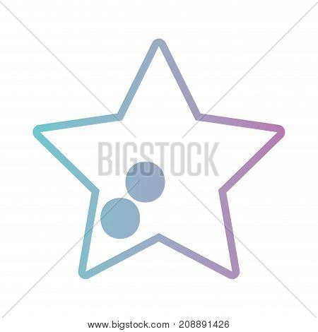 line star image design icon vector illustration