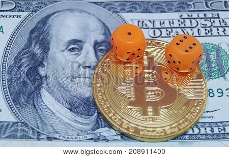 Dice dollar and bitcoin. Risks of invest to bitcoin.
