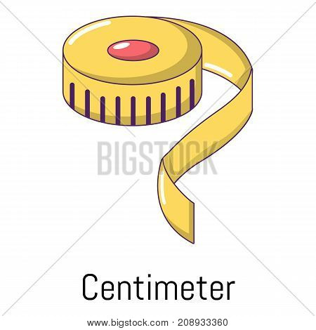 Centimeter icon. Cartoon illustration of centimeter vector icon for web