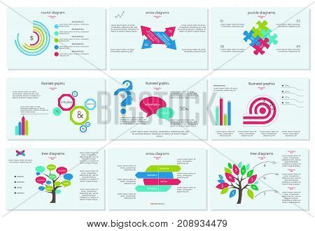 Vector diagram. Can be used for workflow layout, diagram, business step options, banner, web design. Business data visualization. Process chart